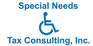 Special Needs Tax Consult